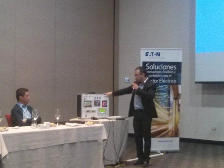 Eaton Hospital Seminar Day - OTRI-Bogotá